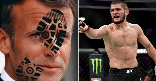 Khabib attacks French leader Macron over Islam comments