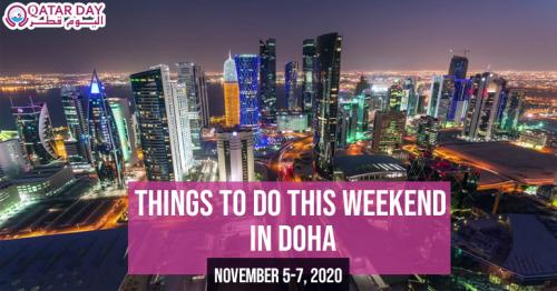 Things to do this weekend in Doha (November 5-7)