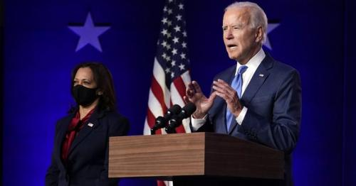 Biden projects confidence he'll win White House