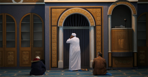 Muslims of Athens hold Friday prayers in Greek capital's 1st mosque after 14 years of delays