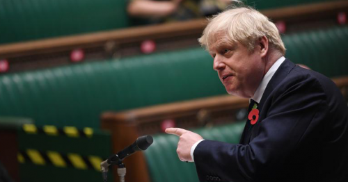 British PM Johnson self-isolating after COVID-19 contact