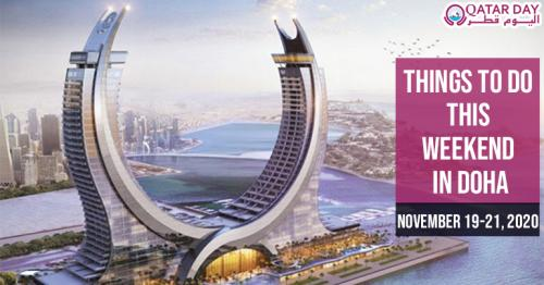 Things to do this weekend in Doha (November 19-21)