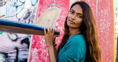Ishita Malaviya, India's first female surfer, is changing her country's perception of the ocean