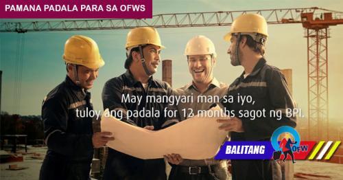Paano Nakakatulong ang BPI Pamana Padala sa mga OFW?