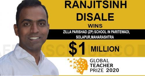Ranjitsinh Disale Global Teacher Award