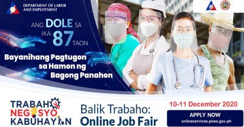 Online Job Fair ng POEA at DOLE: 21,000 Trabaho Naghihintay sa mga Pinoy!