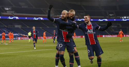 Neymar scores hat-trick as PSG win game suspended after racism walkout