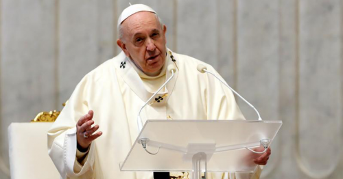 Pope commits Vatican to net zero carbon emissions by 2050