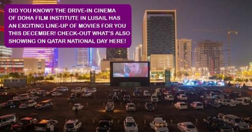 DFI's Drive-In Cinema Screenings  in Lusail Extended Until April 2021!