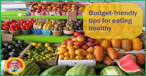 TIPS TO STAY HEALTHY ON A BUDGET