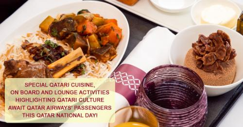 Qatar Airways Celebrates Qatar National Day with Special Offers On Board
