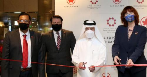 Qatar Airways Welcomes Inaugural Air Canada Flight from Toronto to Doha