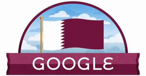 Qatar National Day 2020 Google Doodle