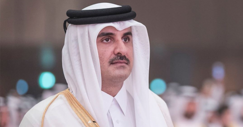 Qatar Amir receives cable of congratulation from US President