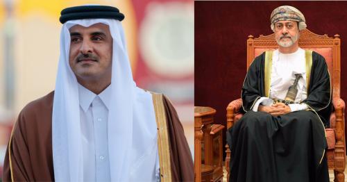 His Majesty Sultan Haitham congratulates Emir of Qatar