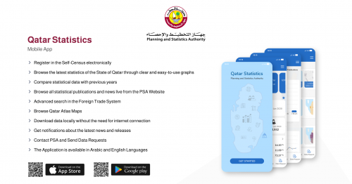 Qatar's PSA launches smartphone app for people to fill in census data