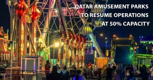 Qatar amusement parks to resume operations at 50% capacity