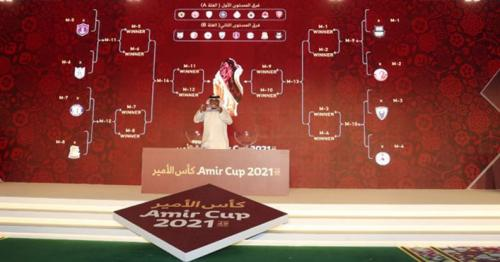 Qatar Football Association kicks off Amir Cup 2021 Draw