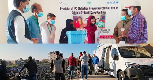 Qatar Charity partners with UNICEF for 'WASH in Emergency Project'