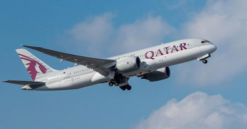 First Qatar Airways flight to enter Saudi airspace departs from Doha