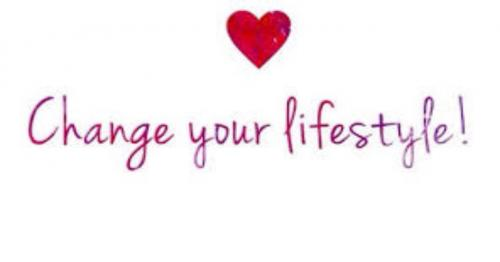 Change your lifestyle: yes, you can, and you can start today