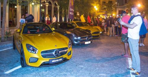 Supercars Show at The Pearl-Qatar