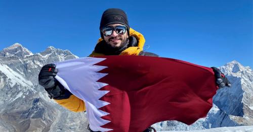 Qatari high-altitude climber reaches Ama Dablam summit in Nepal