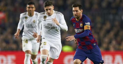 Real Mandrid and Barcelona