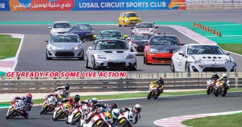 Qatar Superstock, Qatar Touring Car Championship are back on track!