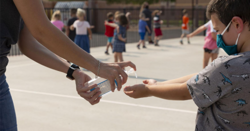 Hand sanitizer is hurting more children's eyes, some severely, study finds. Here's how to protect your kid