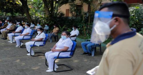 Sri Lanka Minister who drank potion is positive