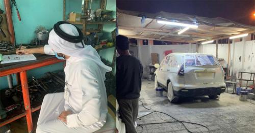 Ministry takes action against car repair workshop operating without license