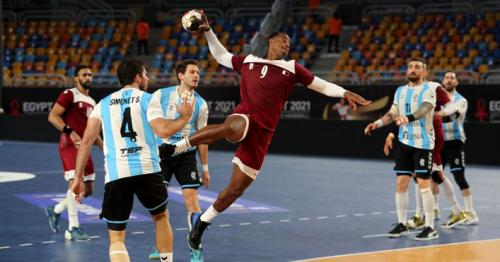 Qatar's Handball team secures place in quarter-finals  after winning vs. Argentina