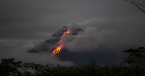 Indonesia's Mount Merapi volcano erupts