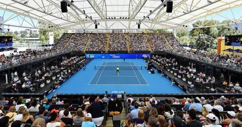 Australian Open tennis exhibition