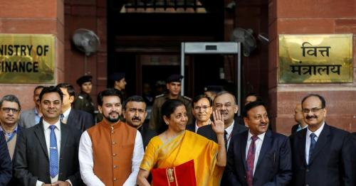 India's budget aiming to revive economy despite limited fiscal headroom
