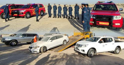 Ministry of Municipality and Environment holds 2-week long campaign to remove abandoned cars