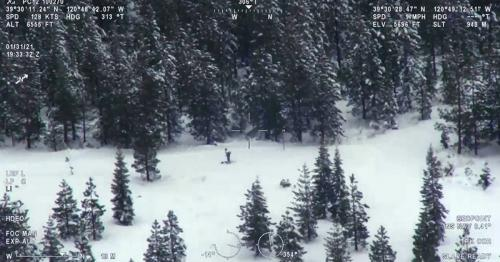 Man spends seven days stranded after his GPS directed him to an unplowed mountain pass