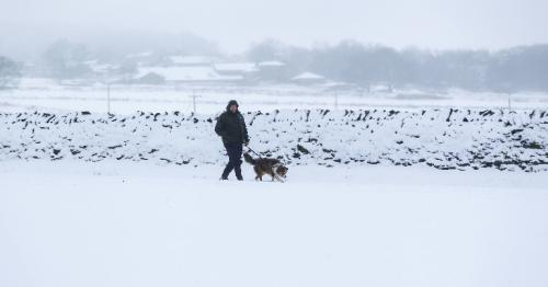UK weather - Storm Darcy leads to heavy snow forecasts for parts of England