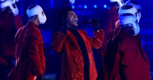 Super Bowl halftime show - The Weekend's act with dancers in face bandages wows all, Fans call it fantastic