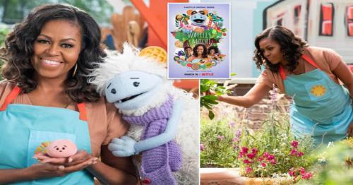 Michelle Obama to star in Netflix children's show Waffles + Mochi