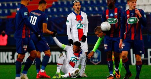 PSG's Neymar injured ahead of Barcelona match in Champions League