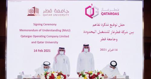 Qatargas, Qatar University Sign MoU for Collaboration in Training, Education