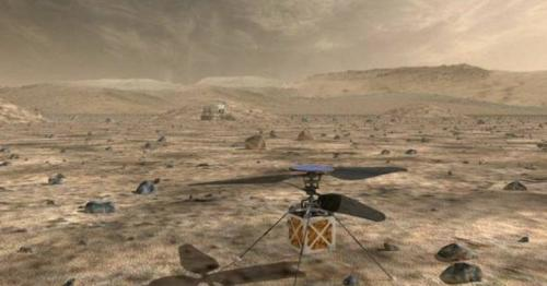 Nasa set to fly helicopter on Mars for the first time