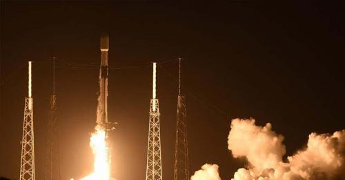 SpaceX launches another batch of Starlink satellites, but misses rocket landing