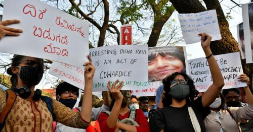 Mumbai court stops arrest of associate of 22-year-old climate activist