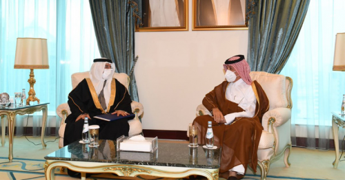 Deputy Prime Minister and Minister of Foreign Affairs Receives Written Message from Minister of Foreign Affairs of the Kingdom of Bahrain