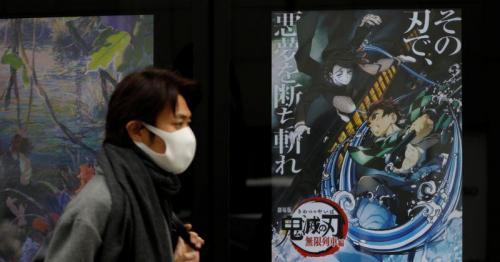 Record-breaking Japan's anime film 'Demon Slayer' lands in U.S. cinemas
