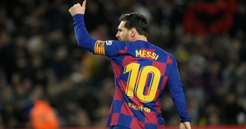 Messi takes Barca within two points of top