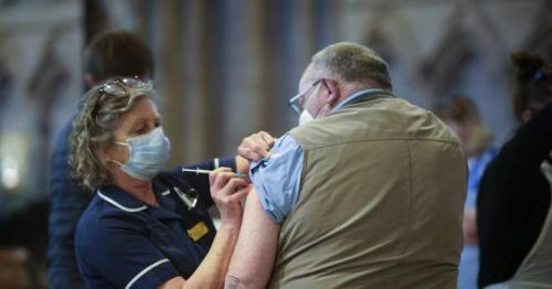 Covid-19 - People aged 60 to 63 in England to get jab invites from Monday